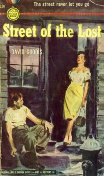Gold Medal Books - Street of the Lost - David Goodis