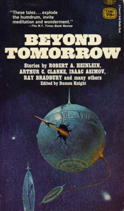 Gold Medal Books - Beyond Tomorrow: Ten Science Fiction Adventures