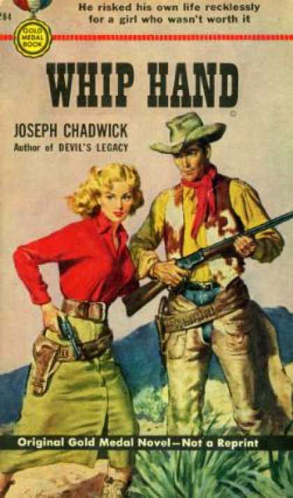 Gold Medal Books - Whip Hand - Joseph Chadwick