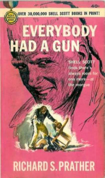 Gold Medal Books - Everybody Had a Gun - Richard S. Prather