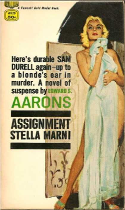 Gold Medal Books - Assignment Stella Marni - Edward S. Aarons