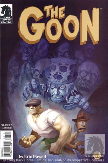 Goon 1 - Dark Horse Comics - Zombie - White Tshirt - Eric Powell - Green Pants - Eric Powell