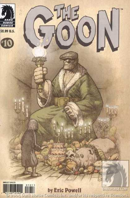 Goon 10 - Olympic Torch - Big Man - Candle - Darkhorsecom - 10 - Eric Powell