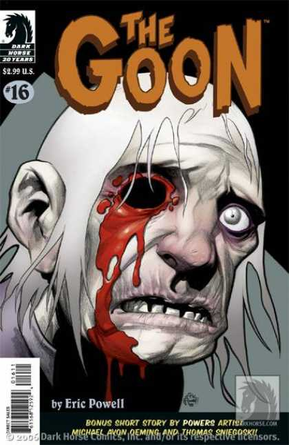 Goon 16 - Dark Horse 30 Years - Head - Monster - Eric Powell - Direct Sales - Eric Powell