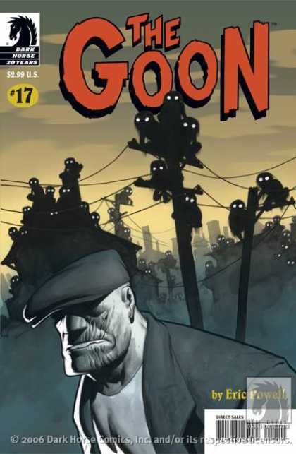 Goon 17 - Chess Piece - Eric Powell - Telephone Wires - Telephone Poles - Haze - Eric Powell