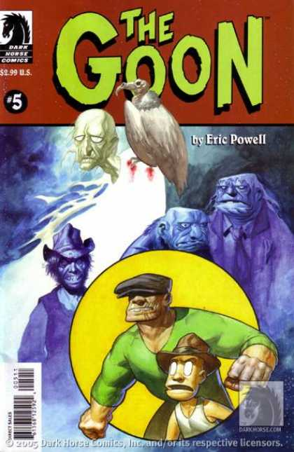 Goon 5 - Eric Powell - Horse - Vulture - Ghost - Muscular Man - Eric Powell