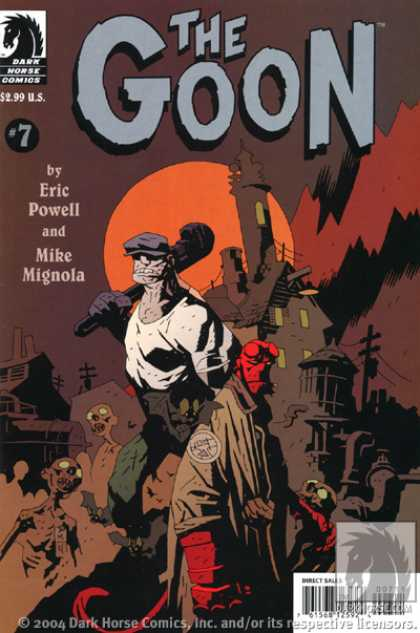 Goon 7 - Dare Horse Comics - 299 Us - Eric Powell - Mike Mignola - Direct Sales - Dave Stewart, Mike Mignola