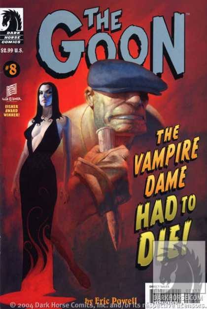 Goon 8 - Dark Horse Comics - The Vampire Dame - Had To Die - Eric Powell - Woman - Eric Powell