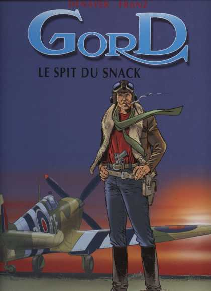 Gord 2 - Le Spit Du Snack - Airplane - Sunset - Gun - Person