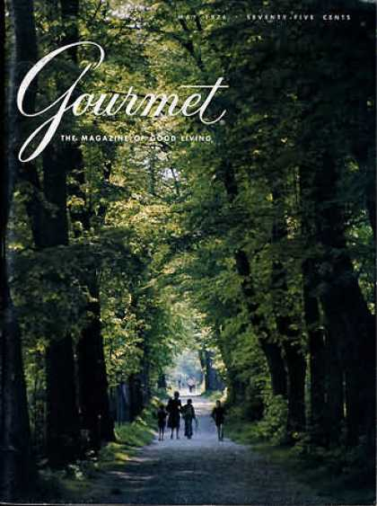 Gourmet - May 1976