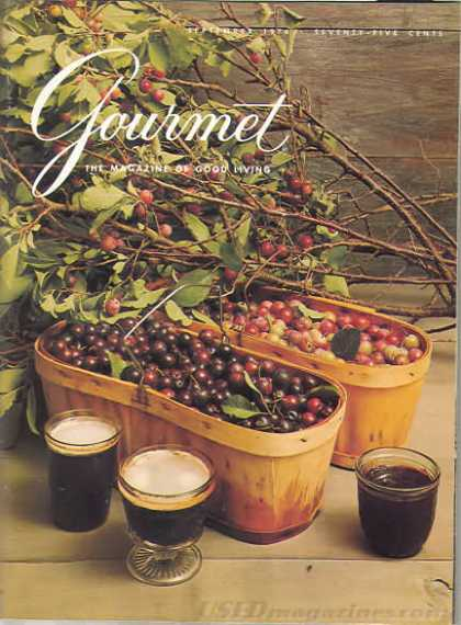 Gourmet - September 1976