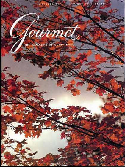 Gourmet - October 1976