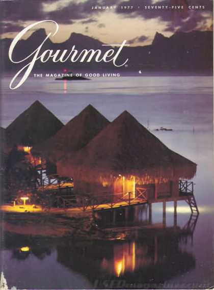 Gourmet - January 1977
