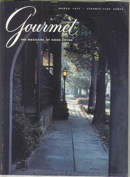 Gourmet - March 1977