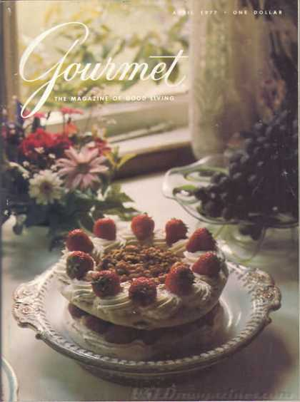 Gourmet - April 1977