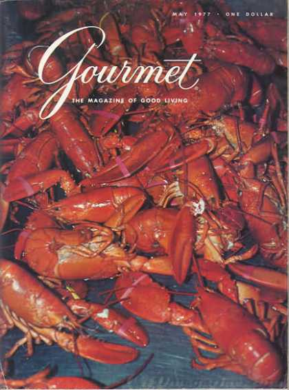 Gourmet - May 1977