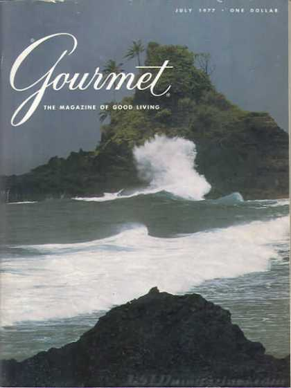 Gourmet - July 1977
