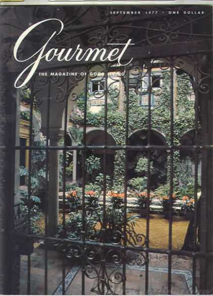 Gourmet - September 1977