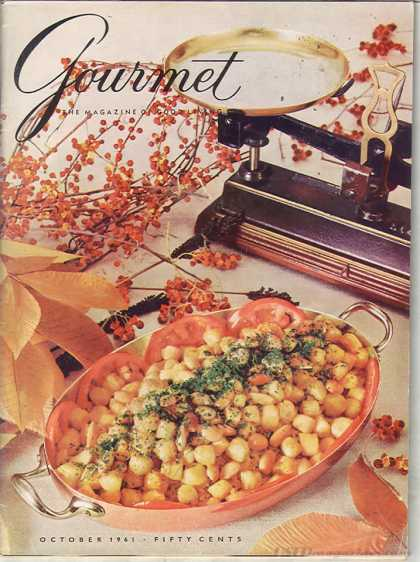 Gourmet - October 1961