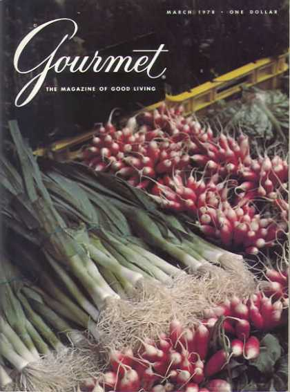 Gourmet - March 1978