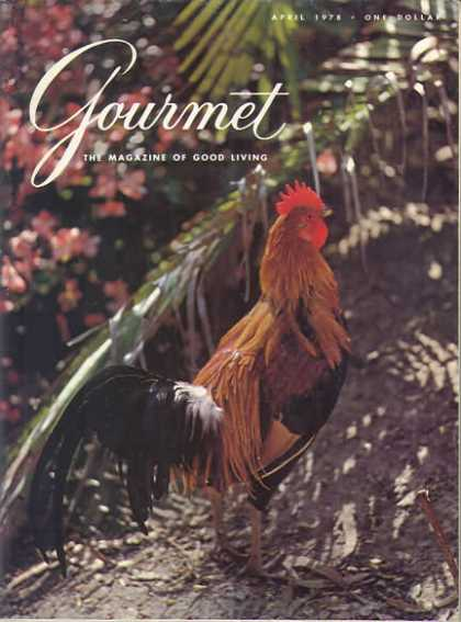 Gourmet - April 1978