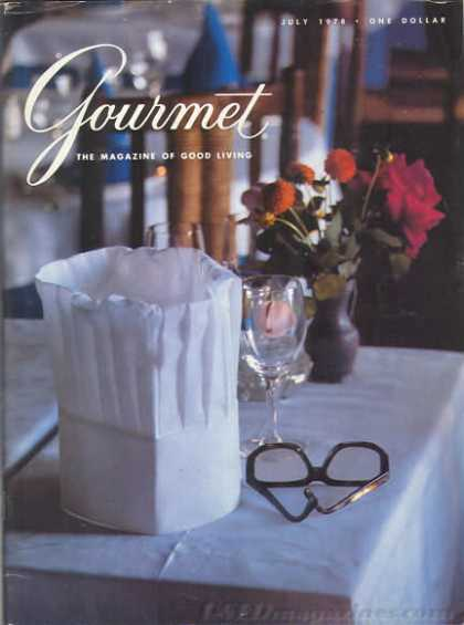 Gourmet - July 1978