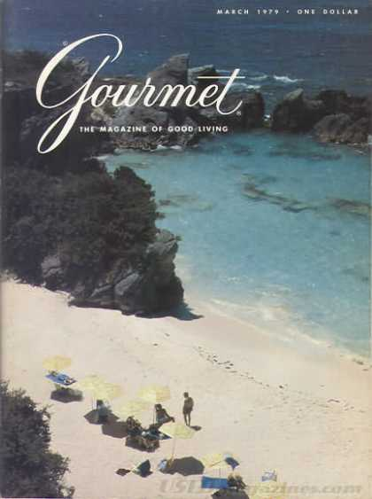 Gourmet - March 1979