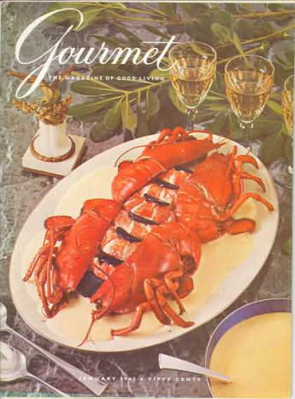 Gourmet - January 1962