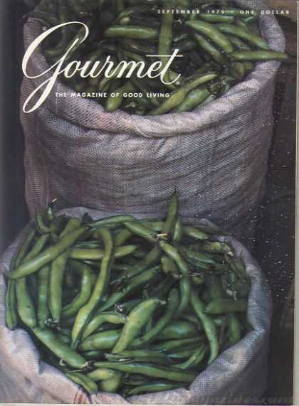 Gourmet - September 1979