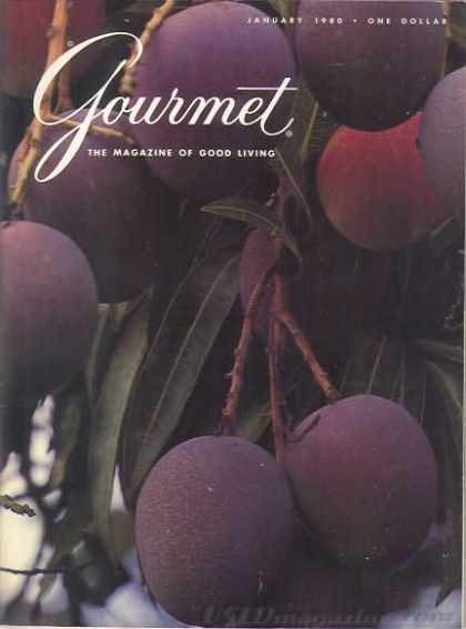Gourmet - January 1980