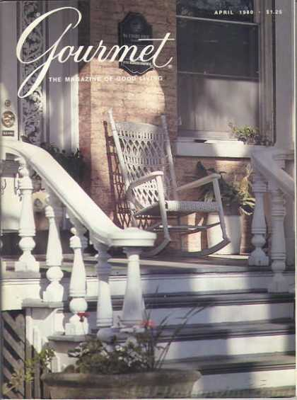 Gourmet - April 1980