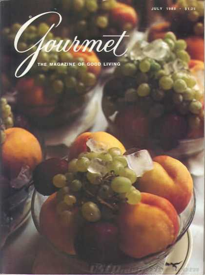 Gourmet - July 1980