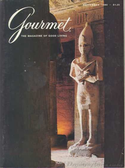 Gourmet - September 1980
