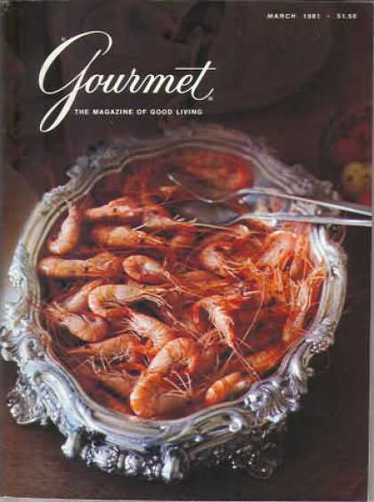 Gourmet - March 1981