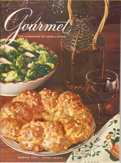 Gourmet - March 1962