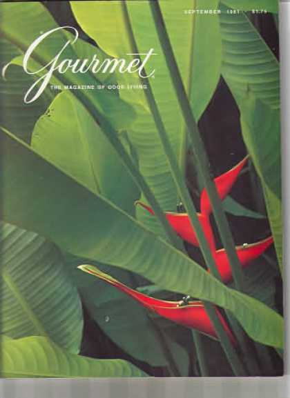 Gourmet - September 1981
