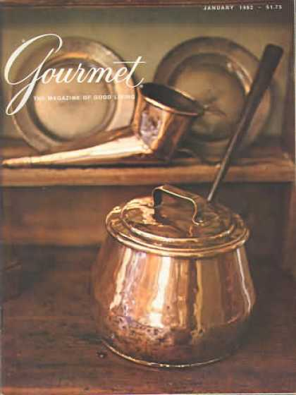 Gourmet - January 1982
