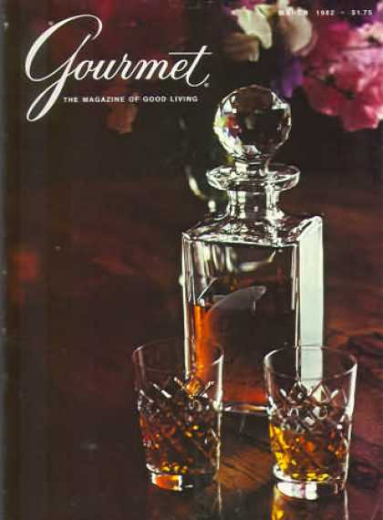 Gourmet - March 1982