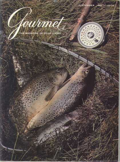 Gourmet - September 1982