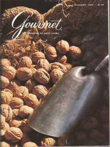 Gourmet - October 1982