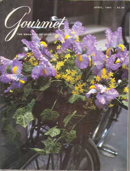 Gourmet - April 1983