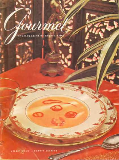 Gourmet - July 1962