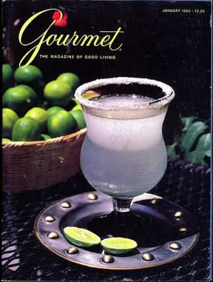 Gourmet - January 1985