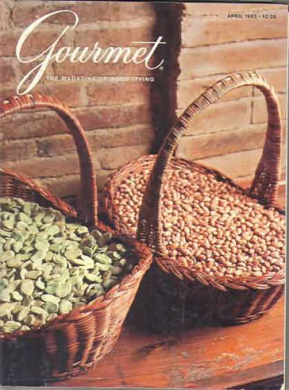 Gourmet - April 1985