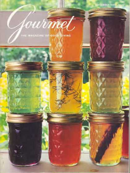 Gourmet - September 1985