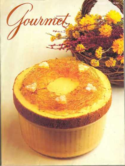 Gourmet - October 1985