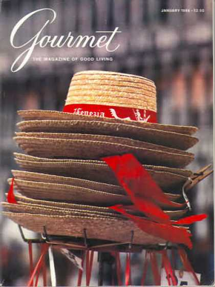 Gourmet - January 1986