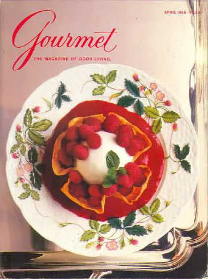 Gourmet - April 1986