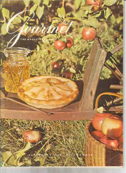 Gourmet - September 1962