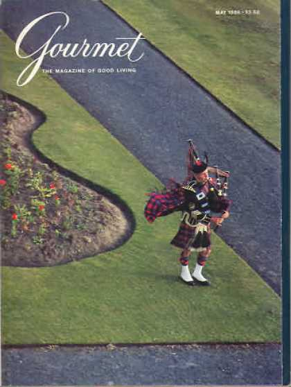 Gourmet - May 1986